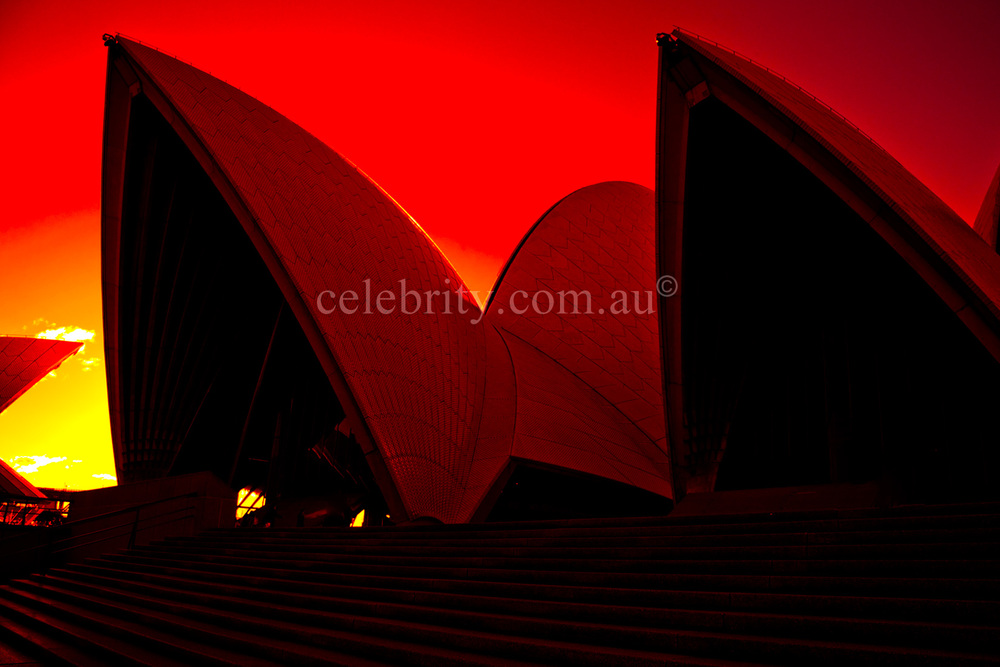 Sunset Sydney Opera House