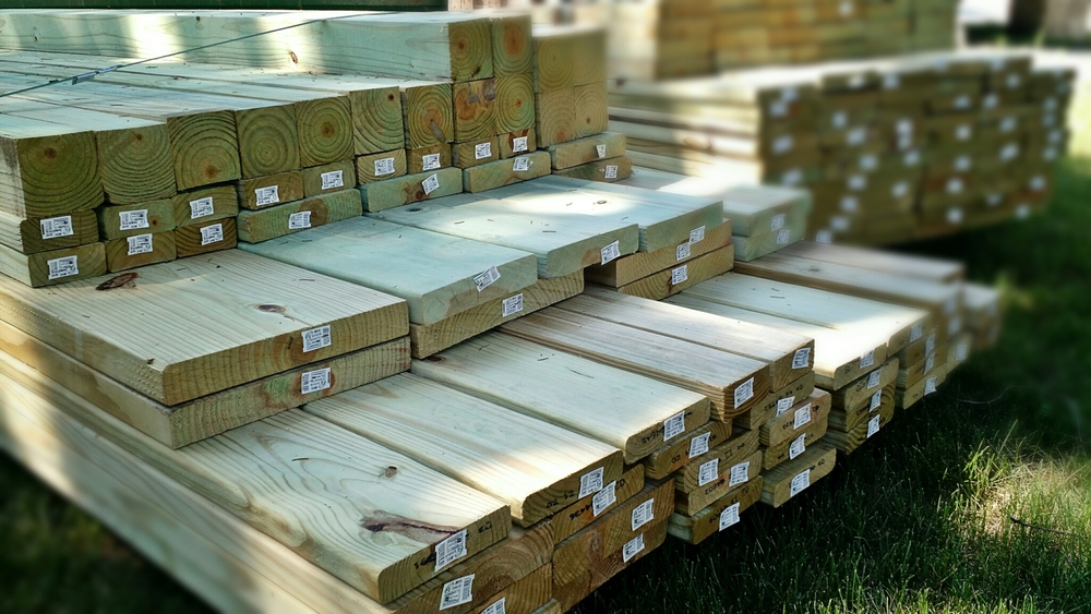 Lots of lumber arrived this week!