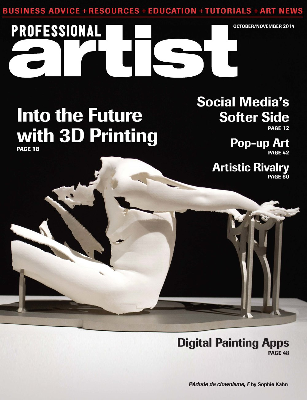 Into the Future with 3D Printing in Professional Artist