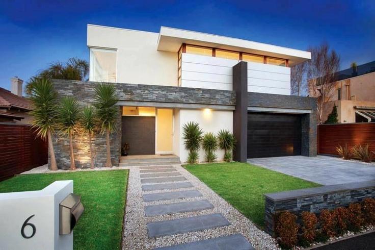 modern front garden ideas australia