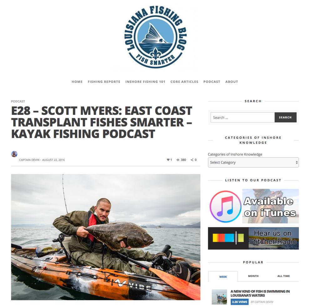 Louisiana fishing blog podcast throwback bayou chronicles for Louisiana fishing blog
