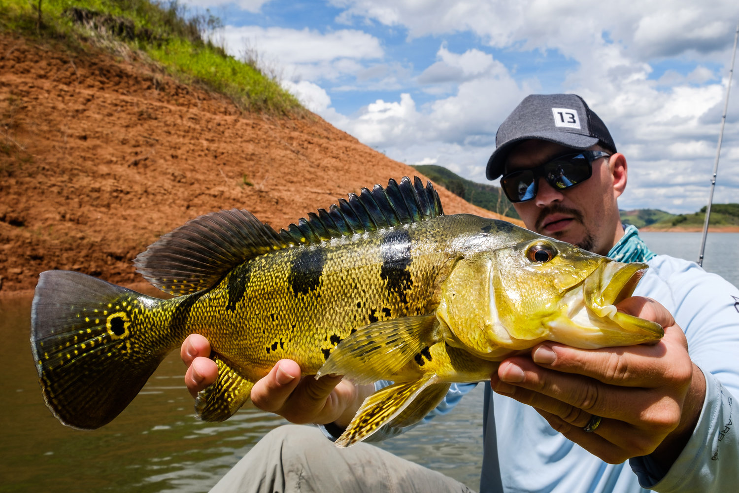 a1f13a49428 Peacock Bass in Vale do Paraiba, Brazil with Rafael Renzetti and company —  Bayou Chronicles - Kayak Fishing