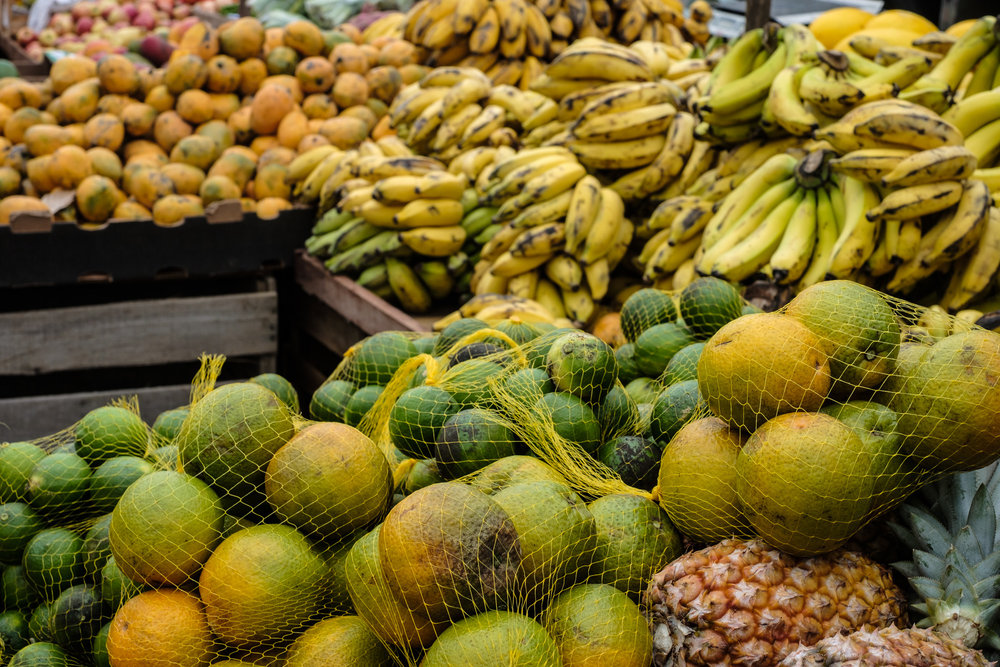 Of course, fruit in a tropical country like Brazil is both plentiful, and delicious, not to mention extremely affordable. I really miss the fruit markets when I come back to the U.S.