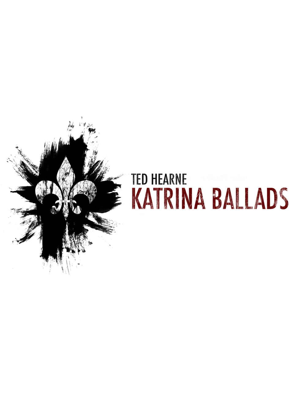 Katrina Ballads score design by Liberty Straney