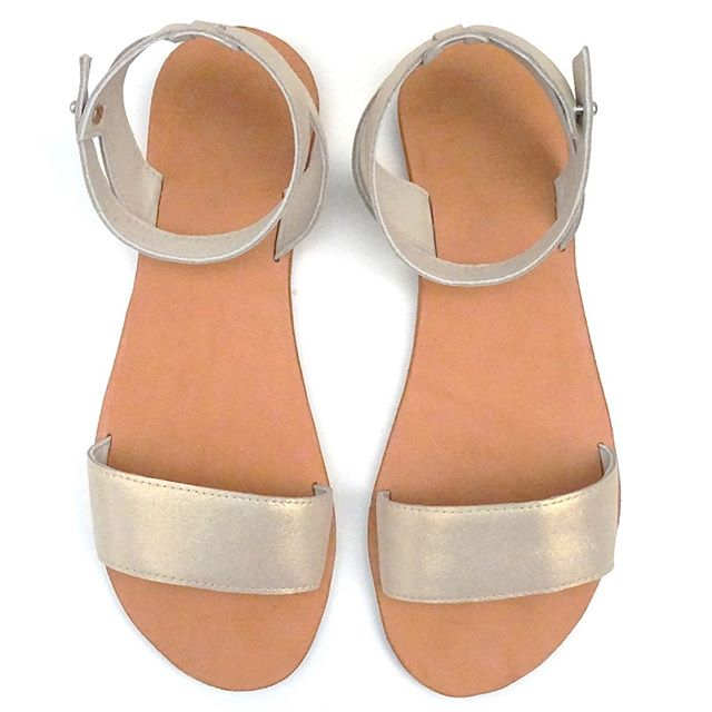 Named after another great Adelaide beach, these Brighton Sandals are an easy first project for anyone interested in learning to make their own shoes. #brightonsandals #shoemaking #sandalpattern #createspaceadelaide #leathersewing #csaleathersewing