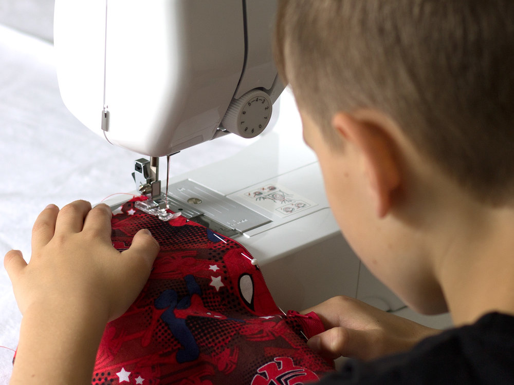 Sewing School for Kids - Learn to sew in this fun weekly class for 8-12 year olds.You'll learn both hand sewing and machine sewing. No experience necessary.