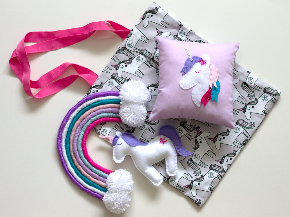 Summer Sewing and Craft - Join us for a fun week of sewing and craft. Across 5 morning sessions you'll make your own bag, mini cushion, stuffed toy and wall hanging - all in the 'Unicorns and Rainbows' theme.No sewing experience necessary.Suitable for children aged 8-12 years.