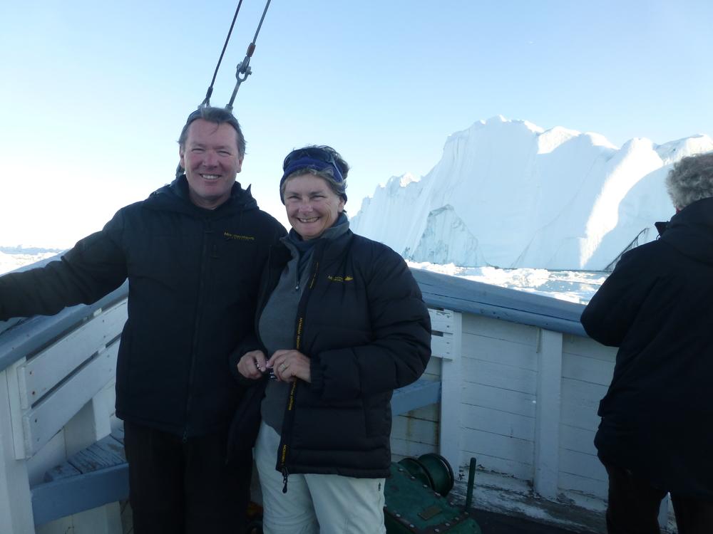 Midnight boat trip, Ilulissat, Greenland