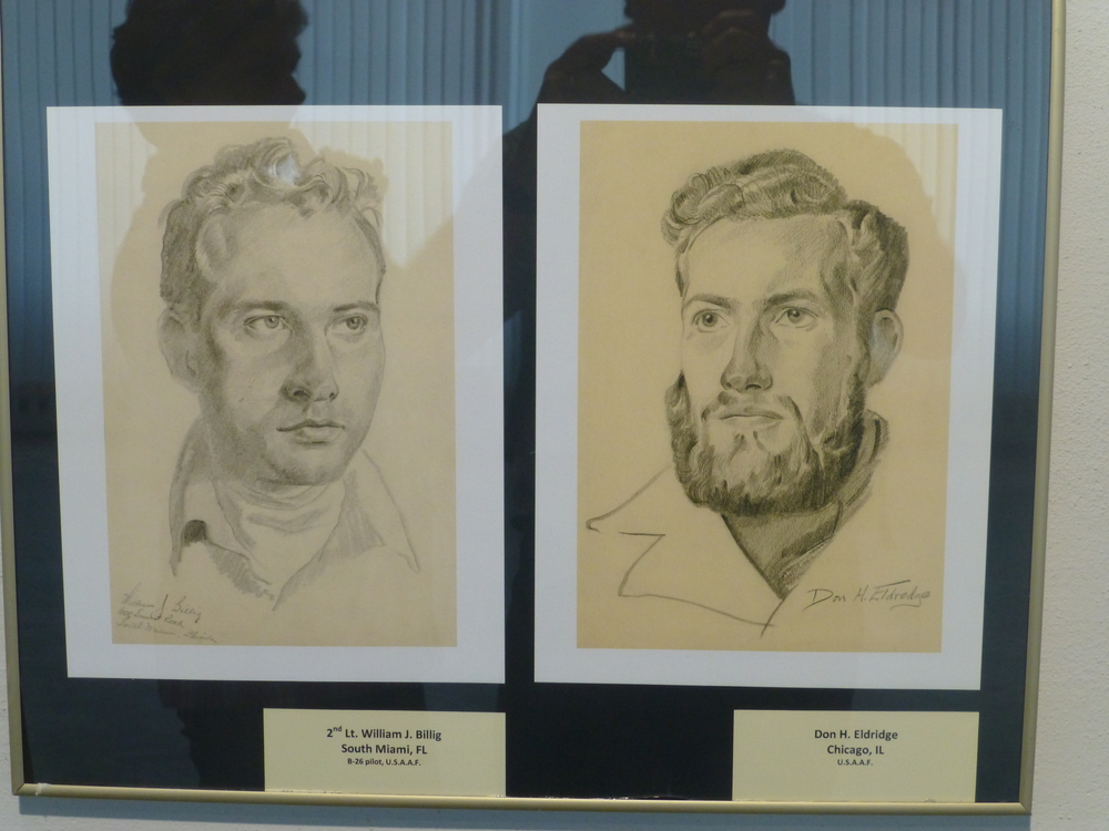 TWO OF MANY SKETCHES DONE BY ONE OF tHE POWS