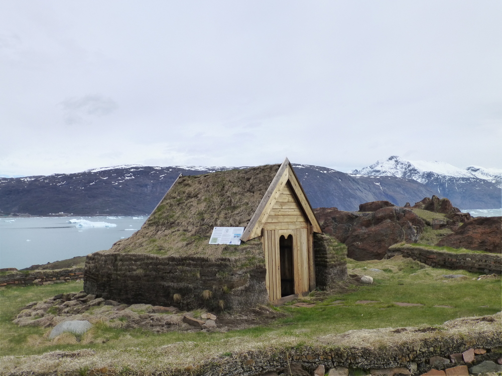 Recreated Viking Church at Qassiarsuk
