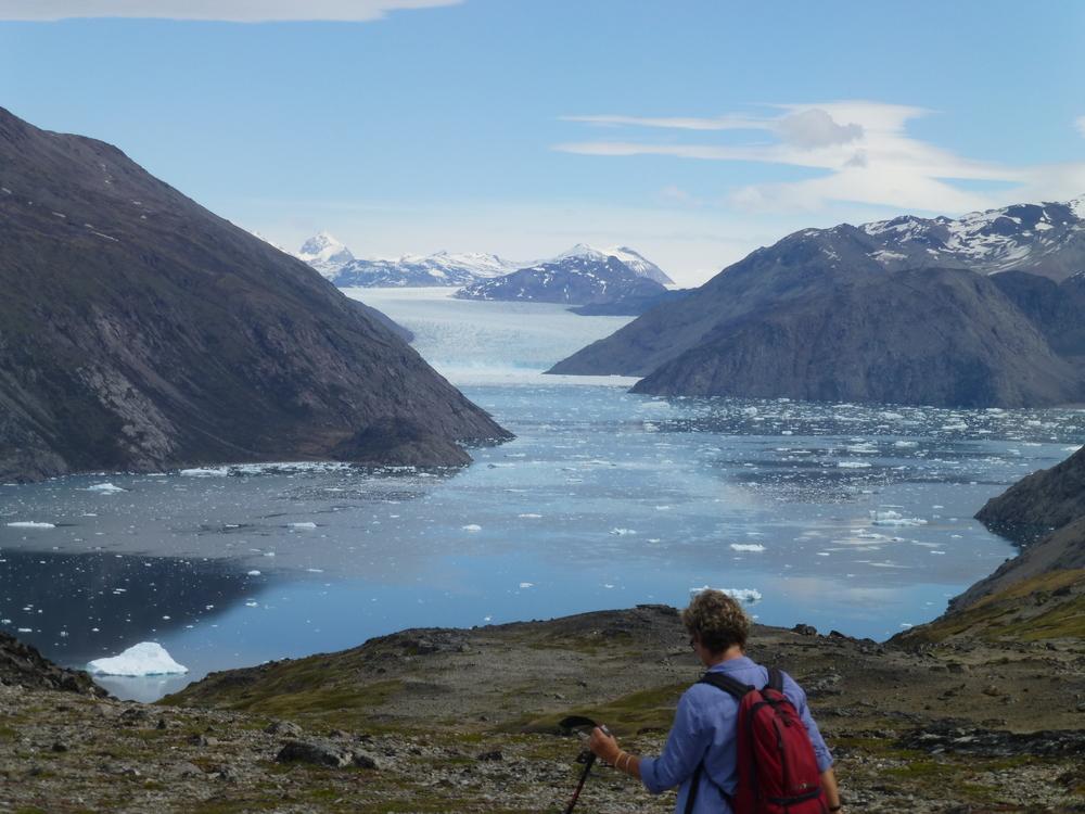 Qooroq Glacier walk