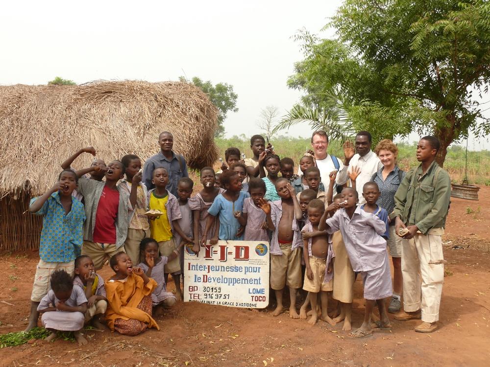 Orphan school - pupils and teachers