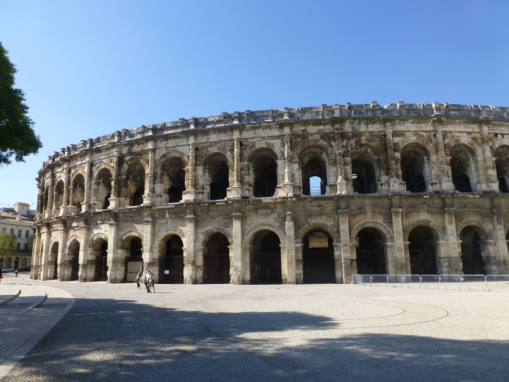 Roman Colosseum, Nimes