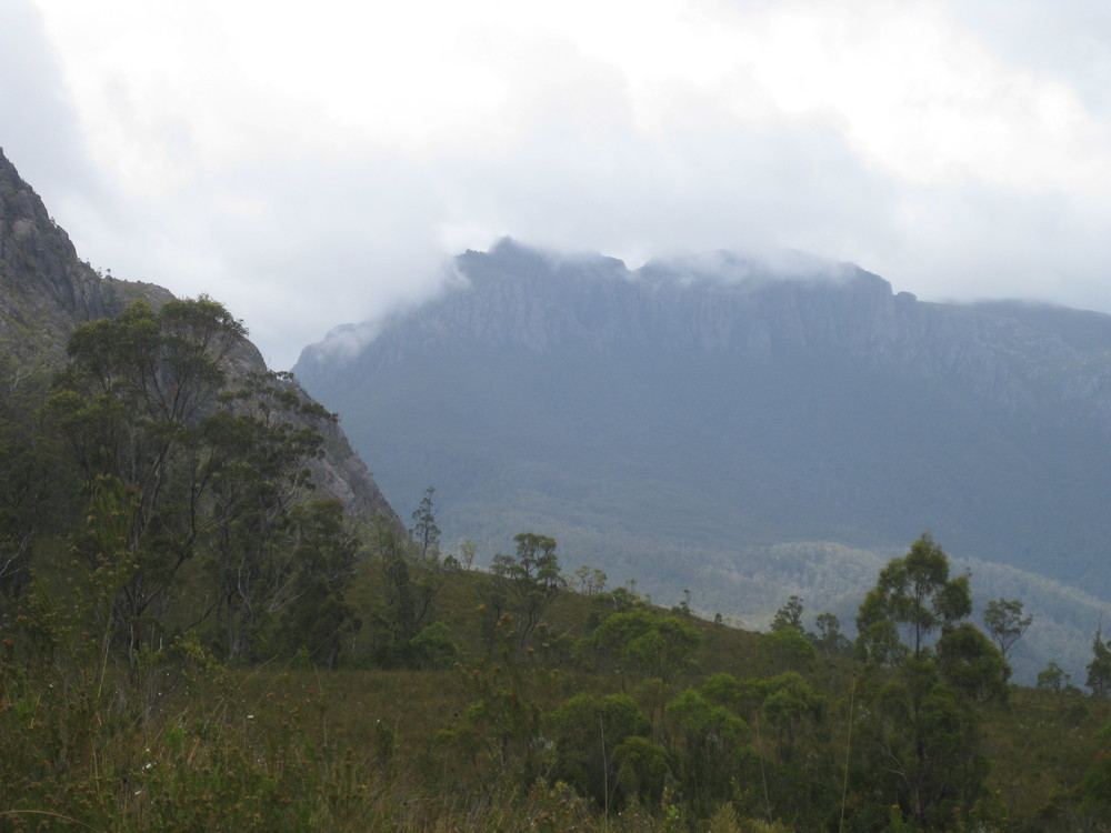 View of Mount Murchison