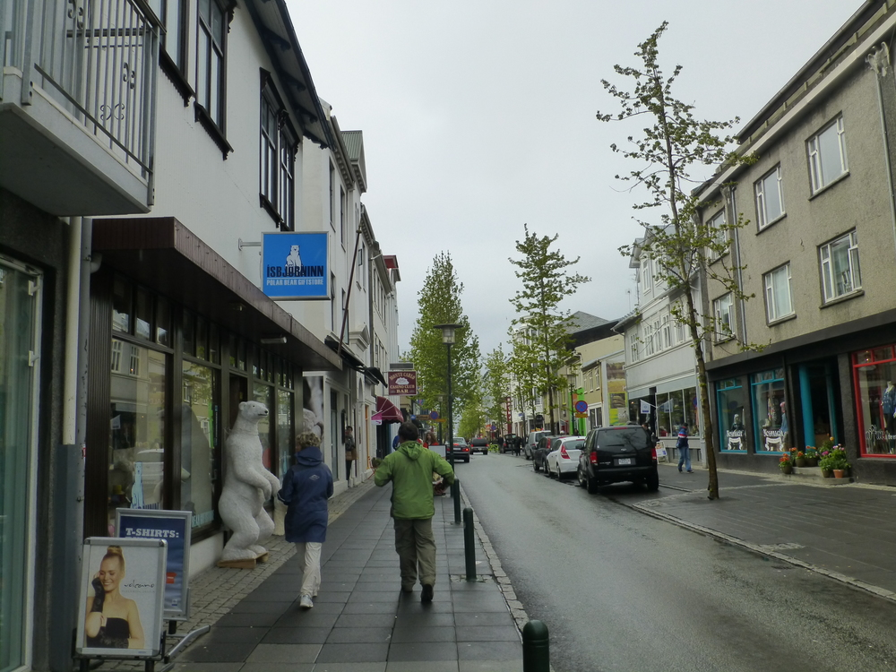 pedestrian street reykjavik