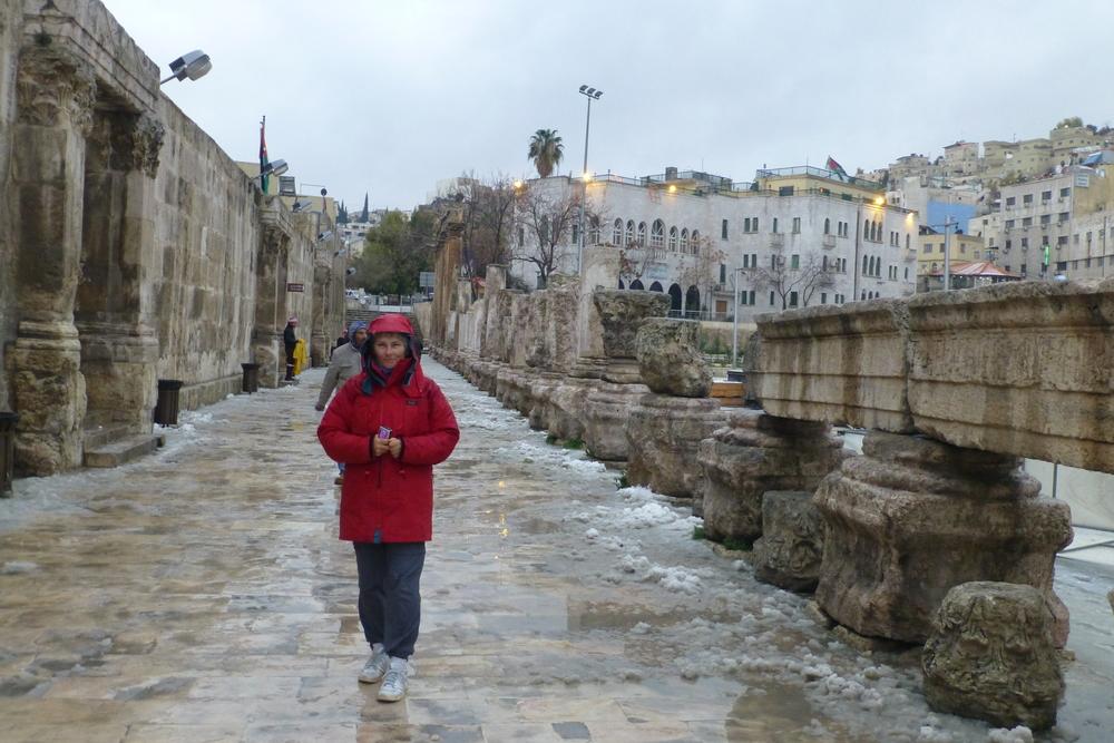 roman ruins, amman