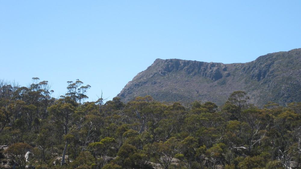 king davids peak from junction lake track