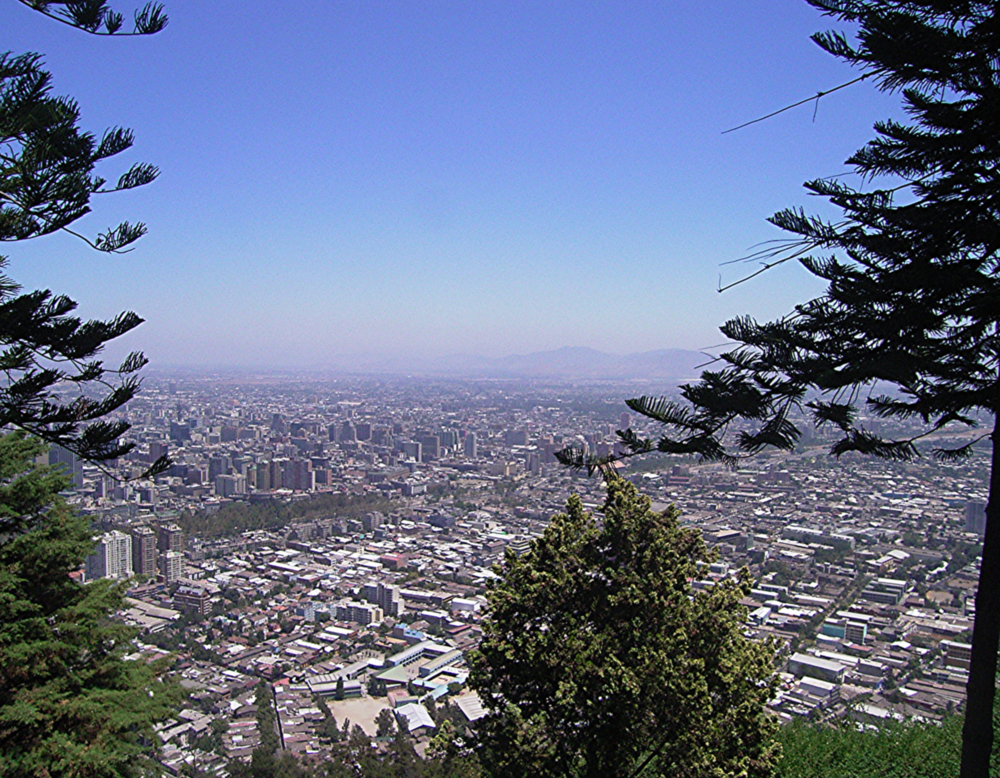 View from Cerro San Cristobel