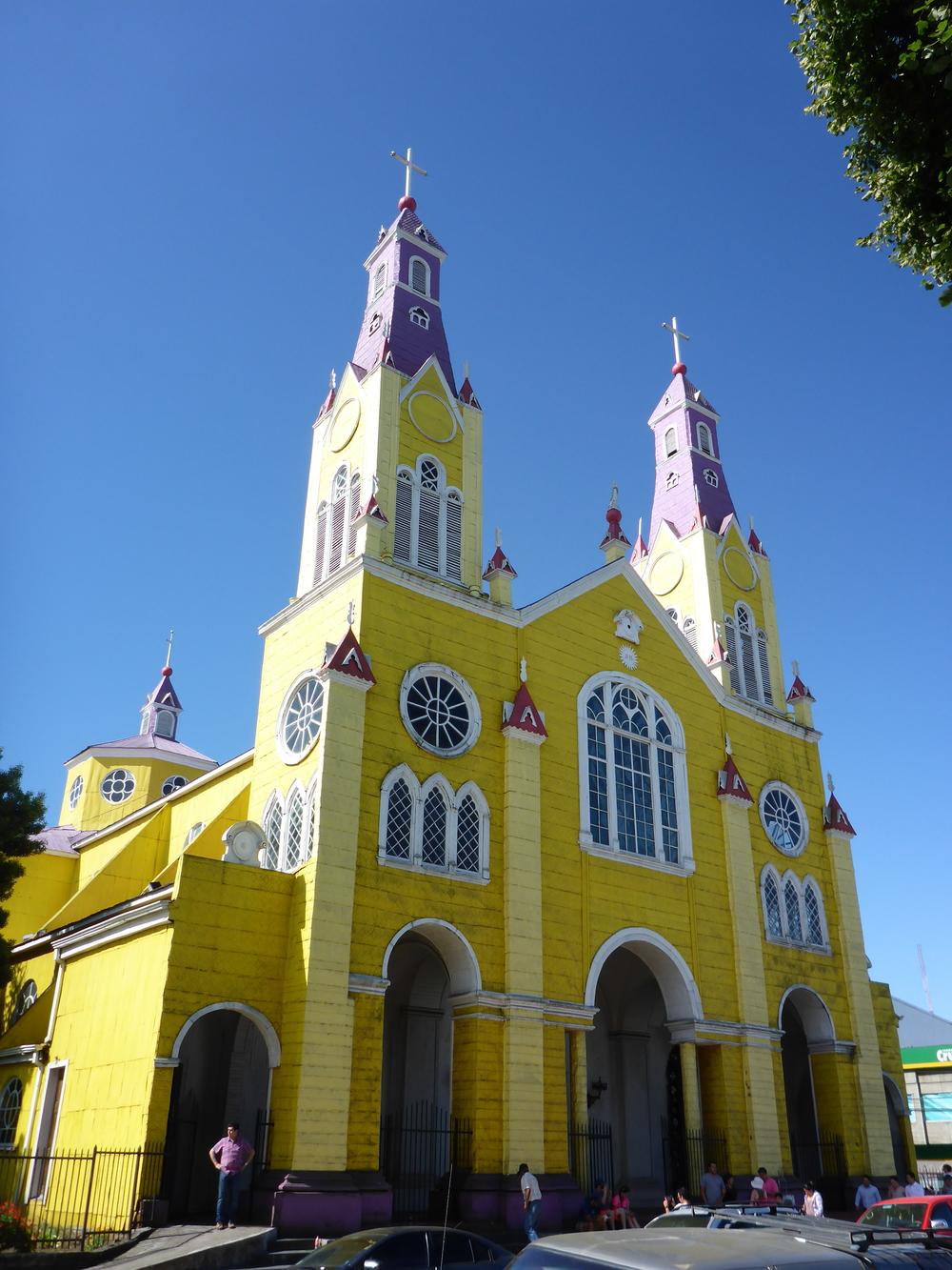 Iglesia San Francisco de Castro.