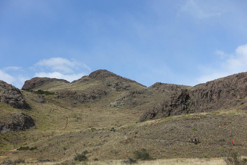 Track to Mirador de los Condores