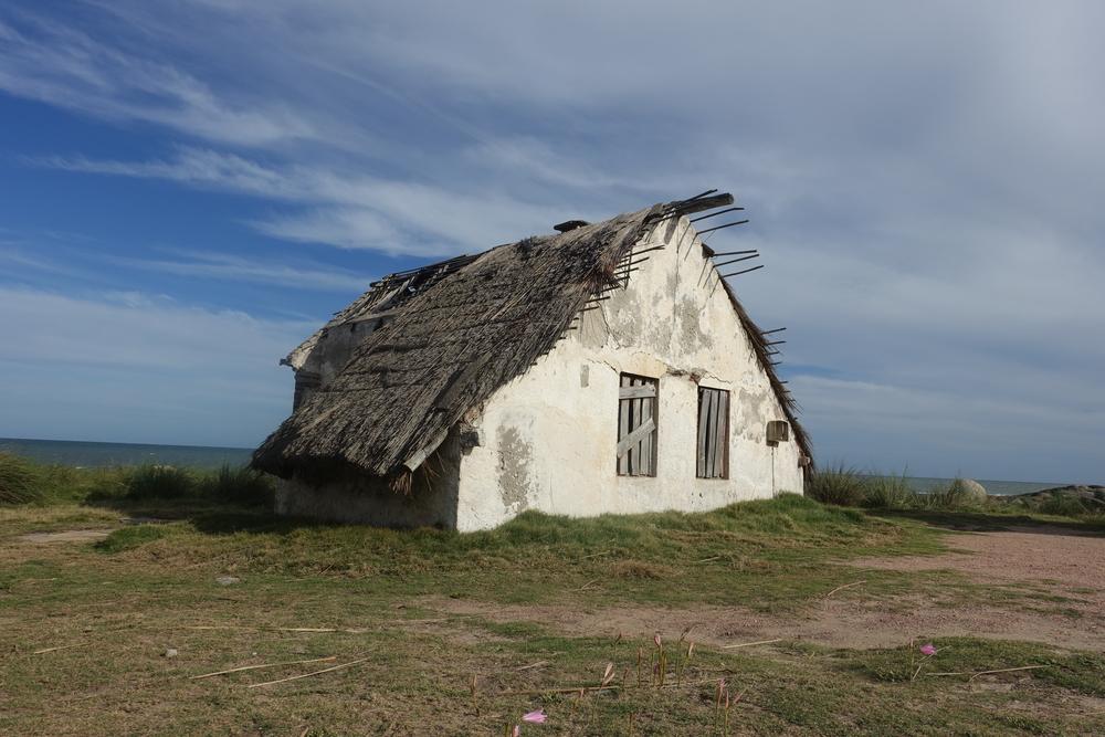 old building, punta del diablo