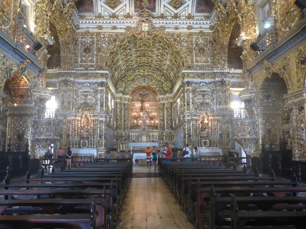 inside Igreja Sao Francisco, pelourinho