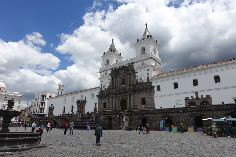 la catedral, quito