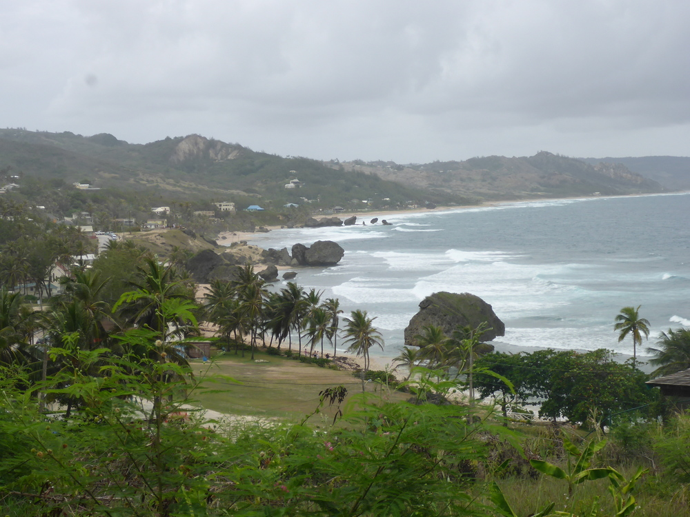 the coast at bathsheba