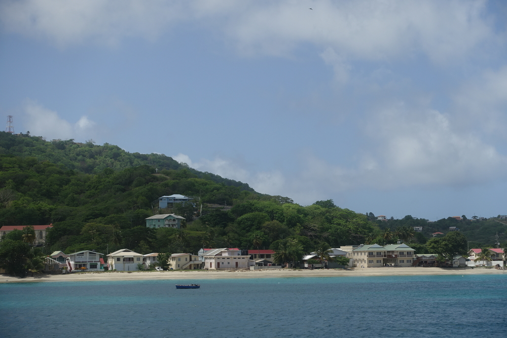 arriving in carriacou on the osprey