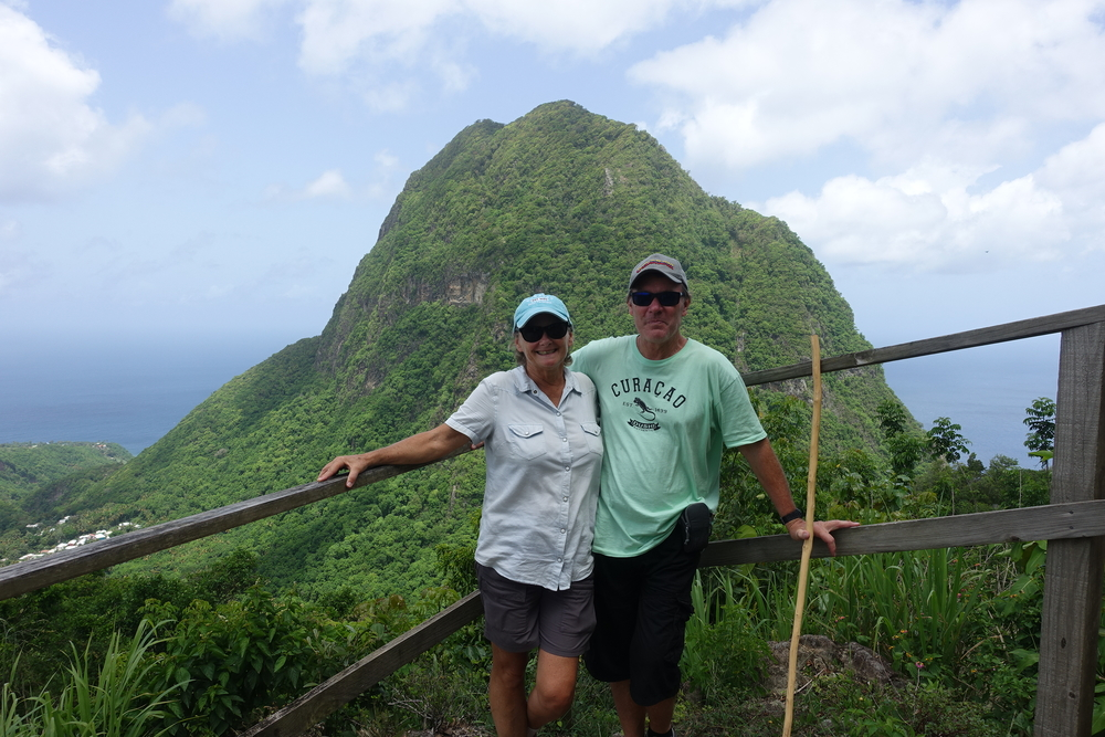 gros piton from the top of the stairway to heaven