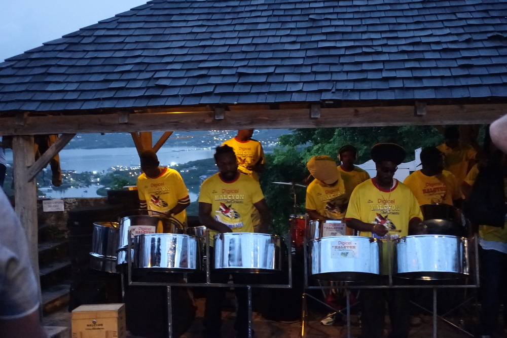 steel band, Shirley heights