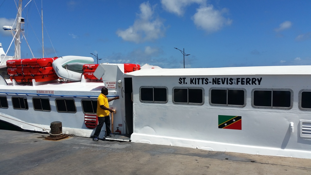 caribe queen ferry to nevis