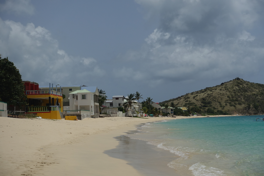 grand case beach, st Martin