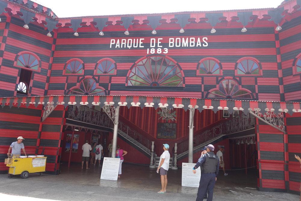 parque de bombas