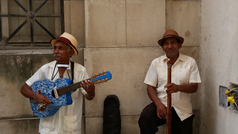 buskers, cuban style