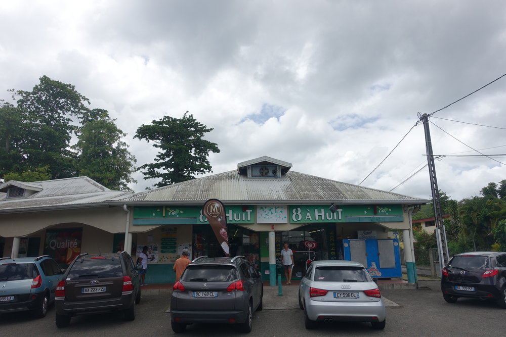 we did a bit of self catering in Martinique calling in to the local supermarche to pick up a few supplies