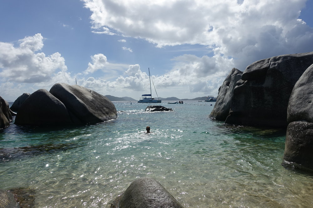 the baths, virgin gorda