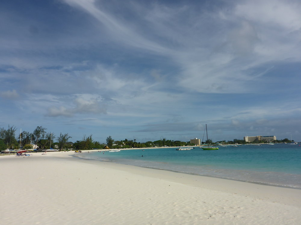 city beach, Bridgetown barbados