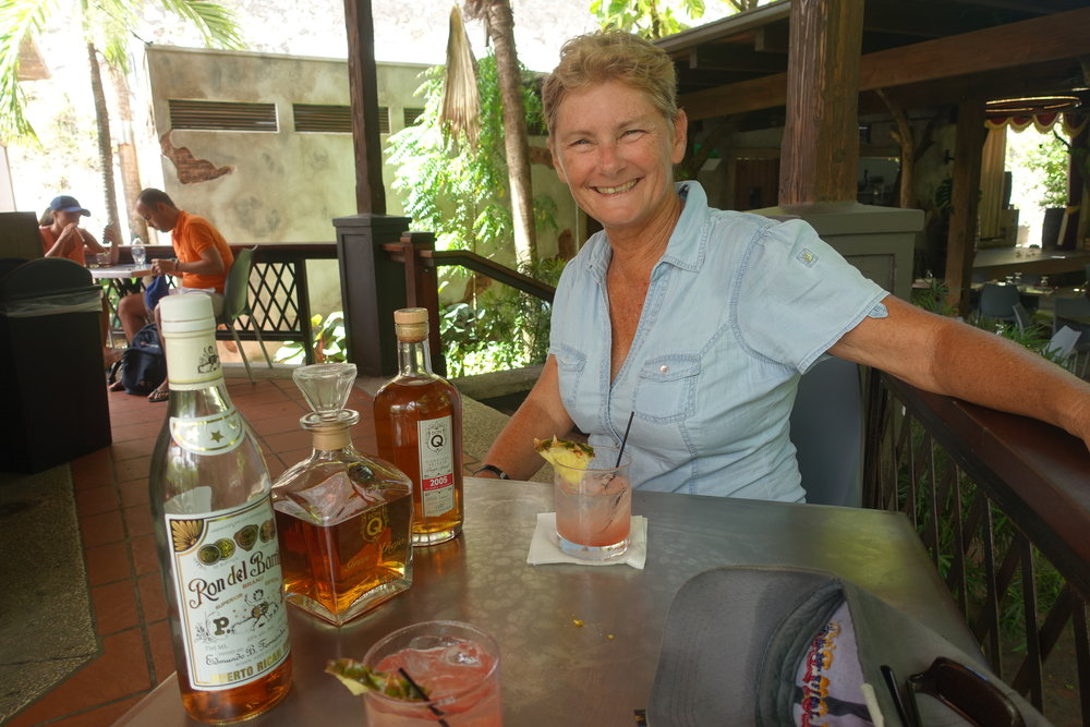 sampling some different rums in san juan, puerto rico