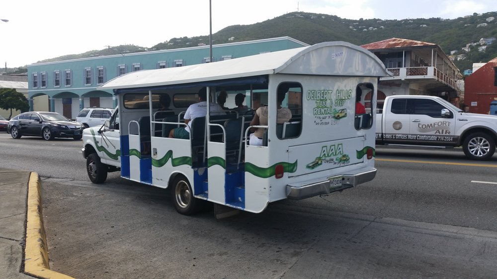 local bus st Thomas, USVI