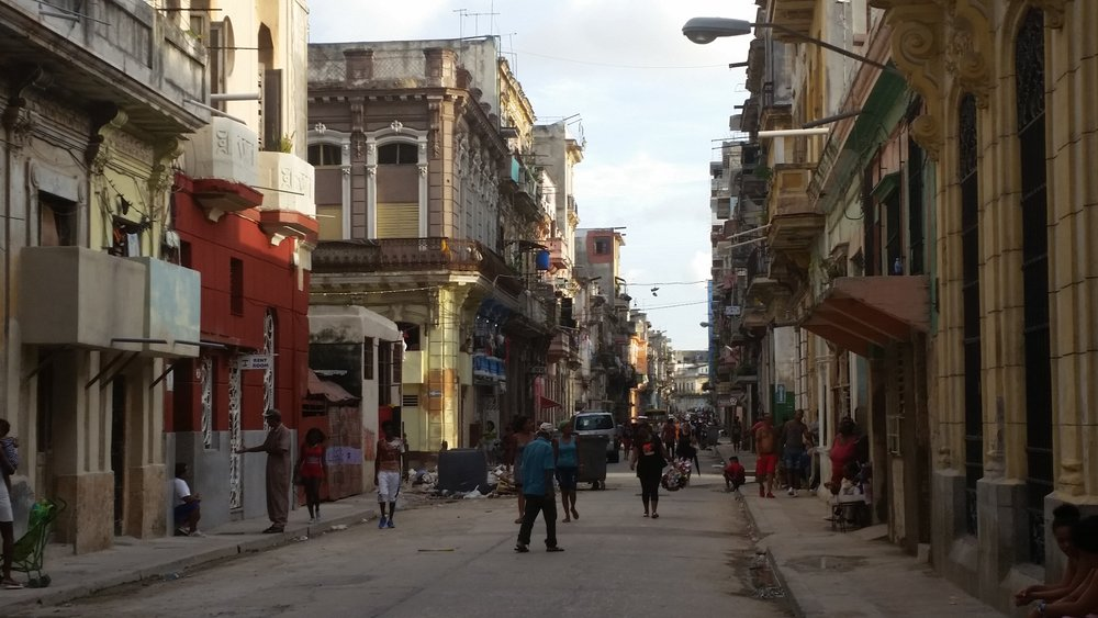 the streets of Havana are not paved in gold