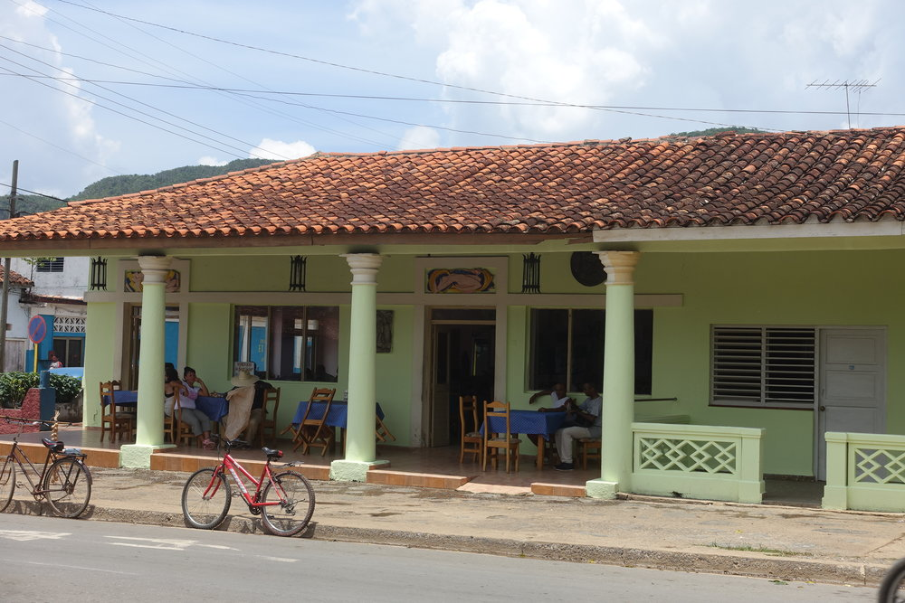 there are plenty of restaurants in Viñales