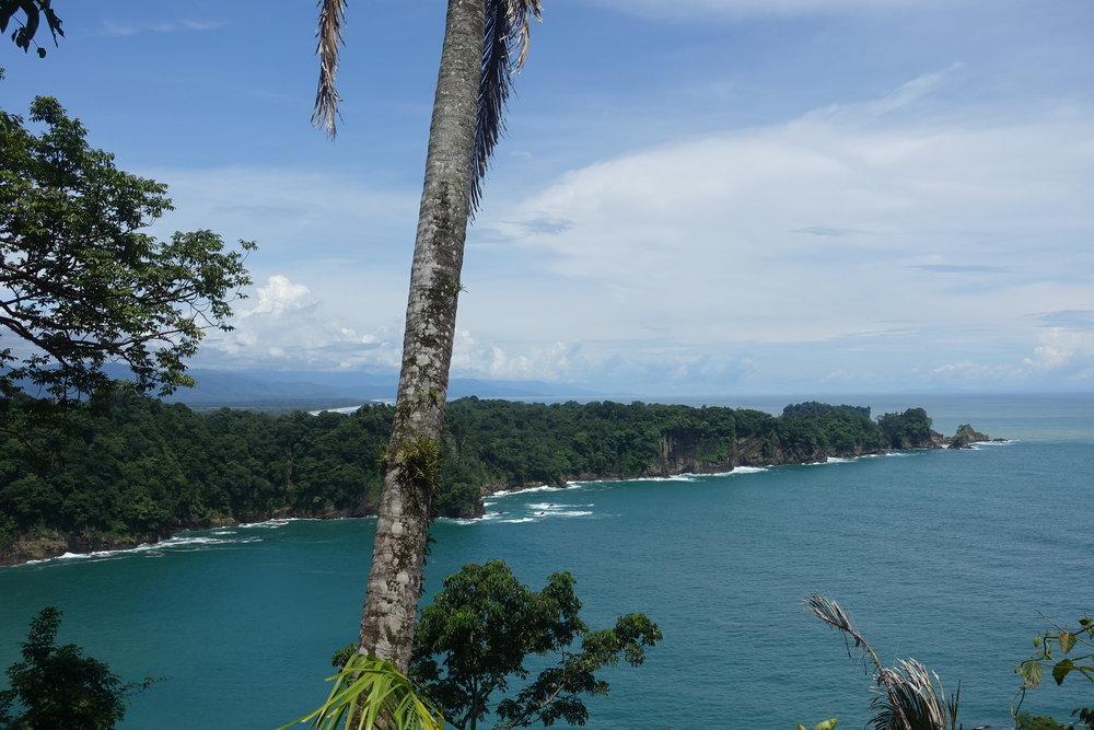 manuel Antonio has some spectacular coastal views