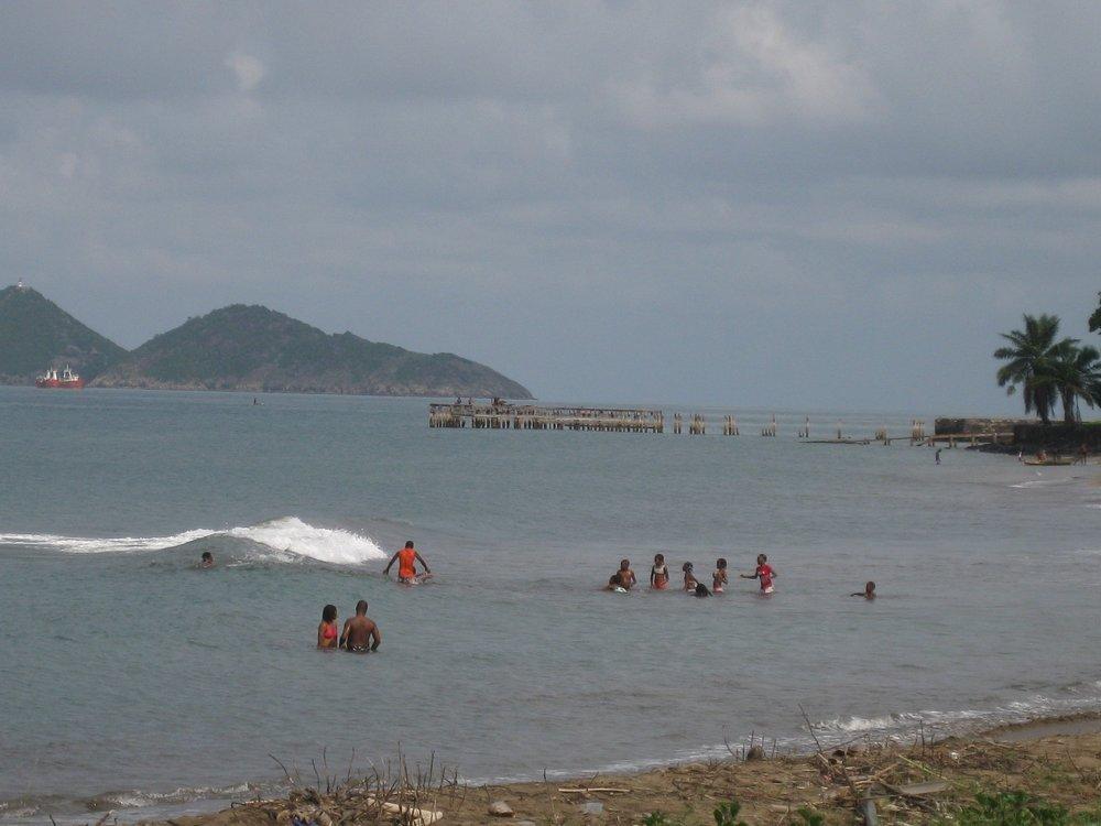 beach - west coast, sao tome