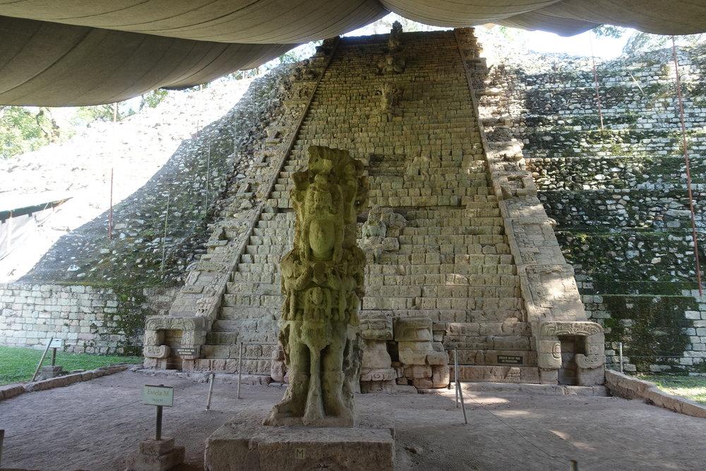 hieroglyphic stairway