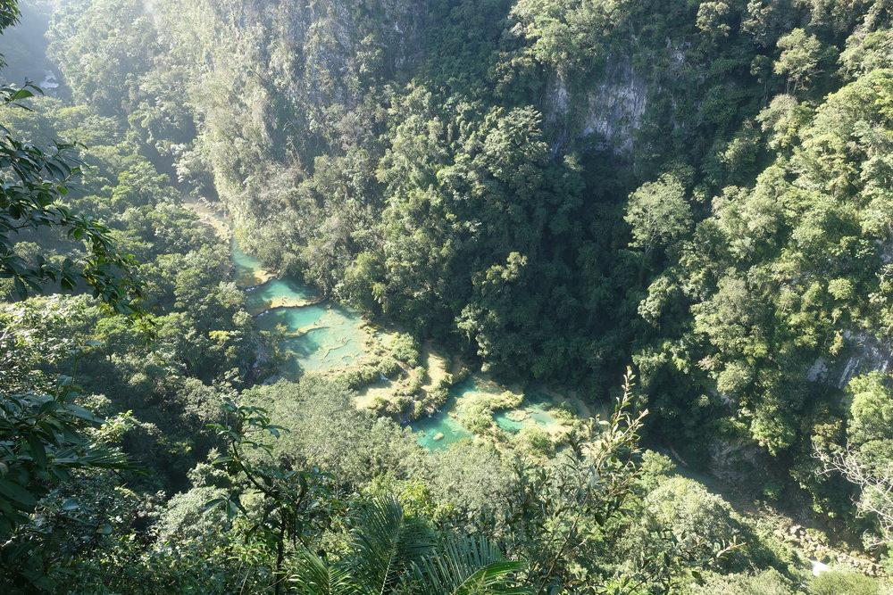 semuc's amazing natural pools