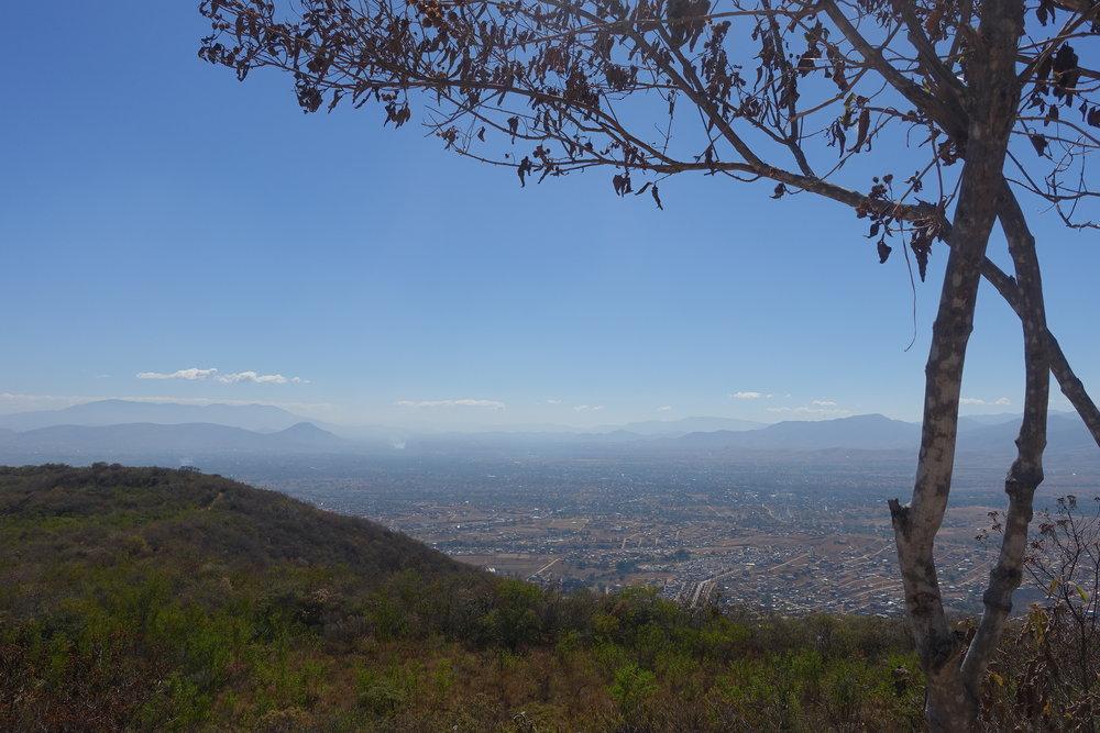 oaxaca from monte alban