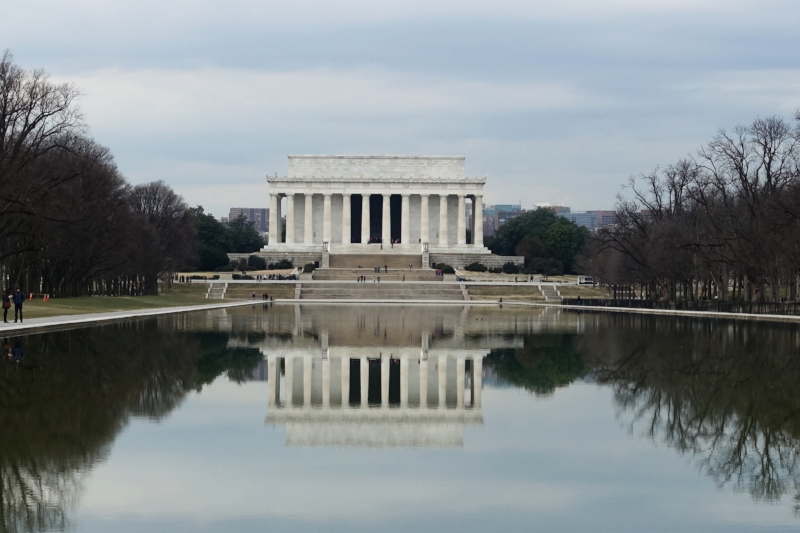 Lincoln Memorial and Reflective Pool