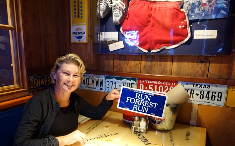 dining at bubba gump's