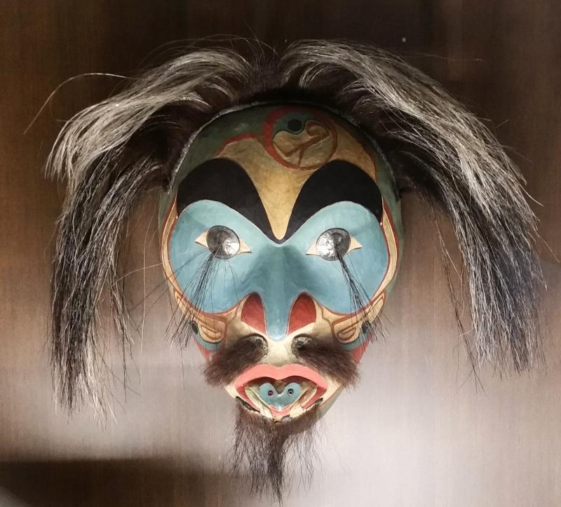 native alaskan mask - ALASKAN STATE MUSEUM